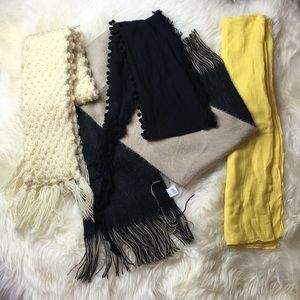 FOUR ❄️🔮 Winter Scarves